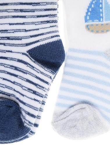 012 Benetton Çorap Seti Pembe